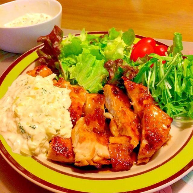2015.2.23 - 34件のもぐもぐ - チキン南蛮で夕食 by かずみ
