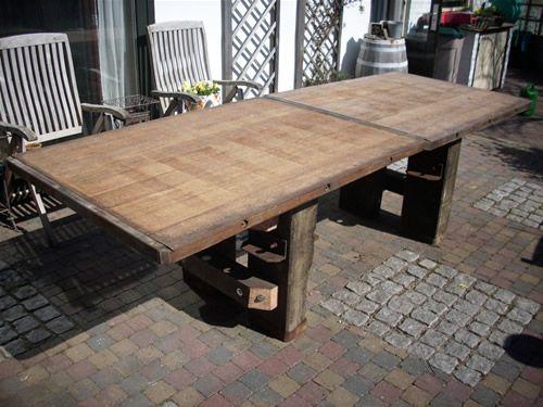 Pallet table ideas wood pallet furniture - 25 Best Images About Steenschotten Meubels On Pinterest