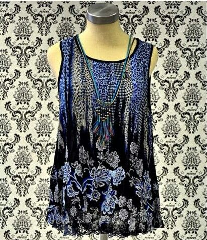 Stunning top to pair with skinny jeans at #NicciBoutiques #summer2014