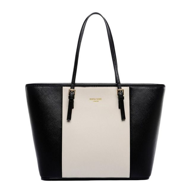 Ladies Designer PU Leather Handbag Women Large Shoulder Tote Laptop Bag