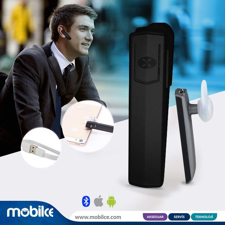 Kullanıcı dostu tasarımıyla.. Kullanımı, takması ve keyif alması kolay kablosuz bluetooth kulaklıklar mobilce.com'da..