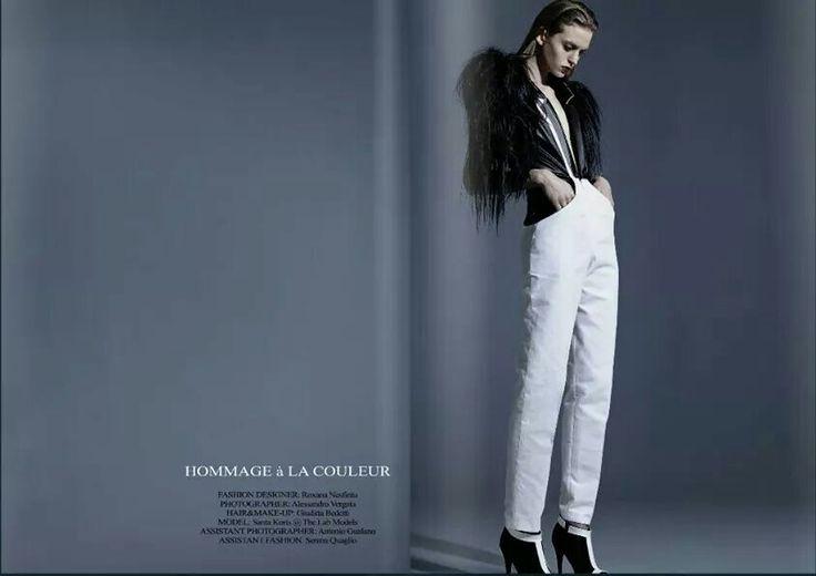 HOMMAGE À LA COULEUR issue April 2014 PapercutMag&Moob Mag