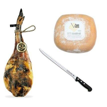 Comprar jamón ibérico 5 Jotas jabugo 5J pata negra | jamón puro bellota
