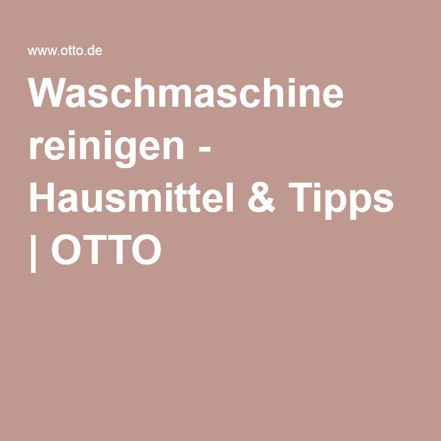 Waschmaschine reinigen - Hausmittel & Tipps | OTTO