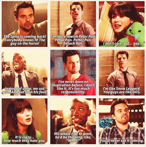 14. Makes me laugh #octoberphotoaday #newgirl   #ZooeyDeschanel