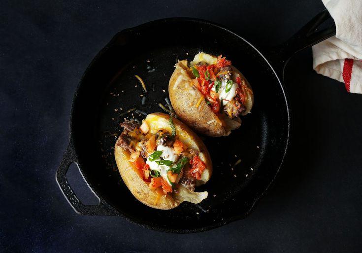 Miss Hangrypants: Bulgogi Stuffed Baked Potatoes