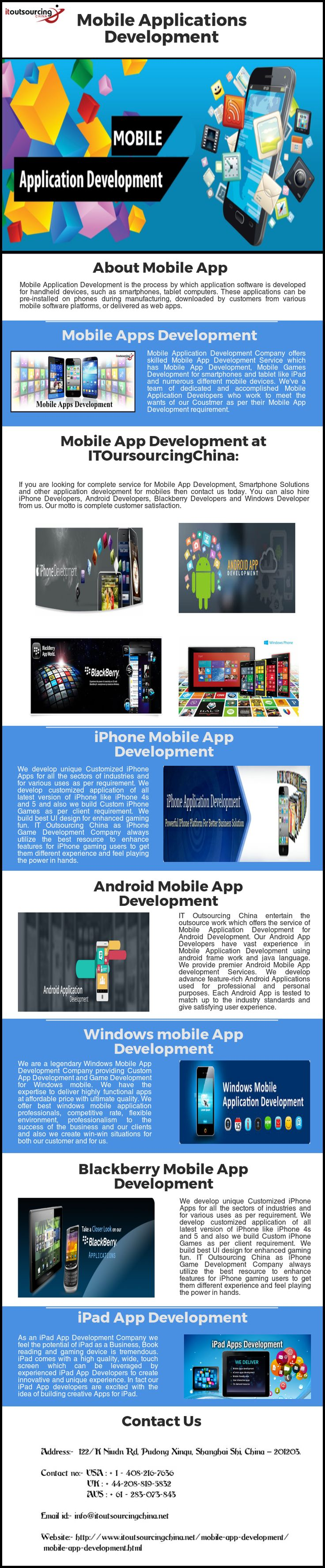 #Mobile #Application #Development #Company offers skilled Mobile #App Development Service which has Mobile App Development, Mobile Games Development for smartphones and tablet like iPad and numerous different mobile devices. We've a team of dedicated and accomplished Mobile Application Developers who work to meet the wants of our Coustmer as per their Mobile App Development requirement.