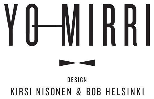 YO-mirri on Kirsi Nisosen ja Bob Helsingin suunnittelema rusetti. Mustavalkoisuus ja kullanvärinen lyyra tekevät siitä niin uusille kuin vanhoillekin ylioppilaille sopivan.