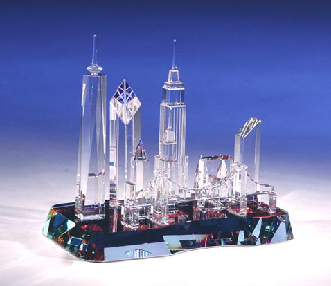 This is the new World Trade Center. Very accurate and to scale!