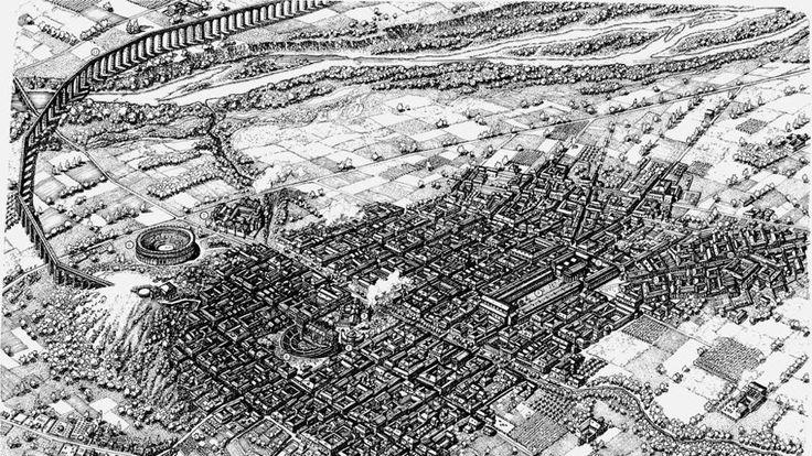 Com'era Acqui Terme al tempo dei romani? Ecco la prima mappa panoramica - La Stampa