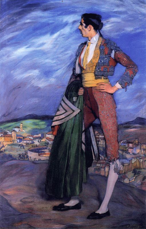 Spanish Painter Ignacio Zuloaga (1870-1945)
