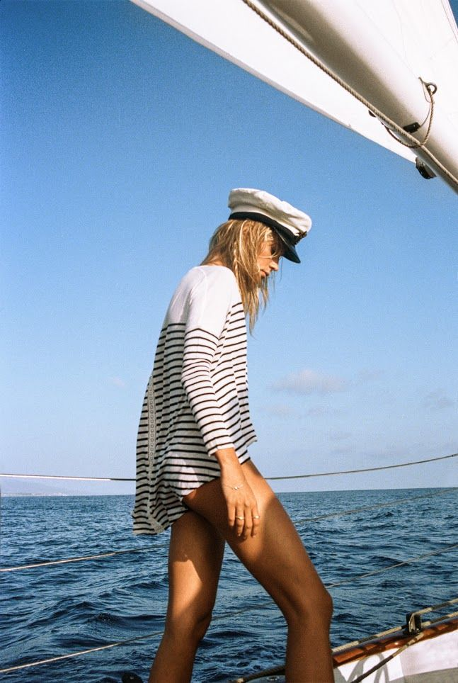 Nautical Stripes & the South of France