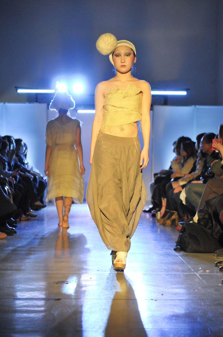 卒業制作展ファッションショー