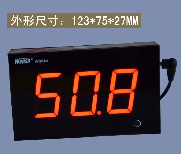 79.99$  Watch here - http://ali5x9.worldwells.pw/go.php?t=32783723274 - WS844 Custom Wall-Mounted Noise Meter Sound Size Tester Digital Display Decibel Meter WS844 for Bar Shop Hall Office Game Room
