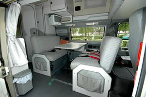 VW LT Westfalia Florida Interior
