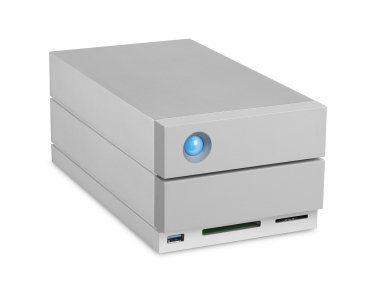 LaCie STGB8000400 2big Dock Thunderbolt 3 Disque Dur Externe 8000 Go avec Raid et Card Reader, Thunderbolt, connecteur USB: Incroyable…