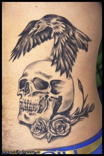 Tribal Santa Tatoo: Tattoos Tribal Tarragona, Calavera Cuervo, Tattoo Cuervus