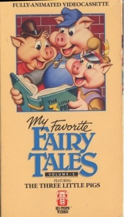 "Saban Entertainment's ""My Favorite Fairy Tales"" VHS series (1986)"