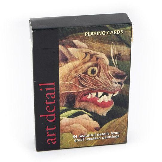 Art Detail spillekort