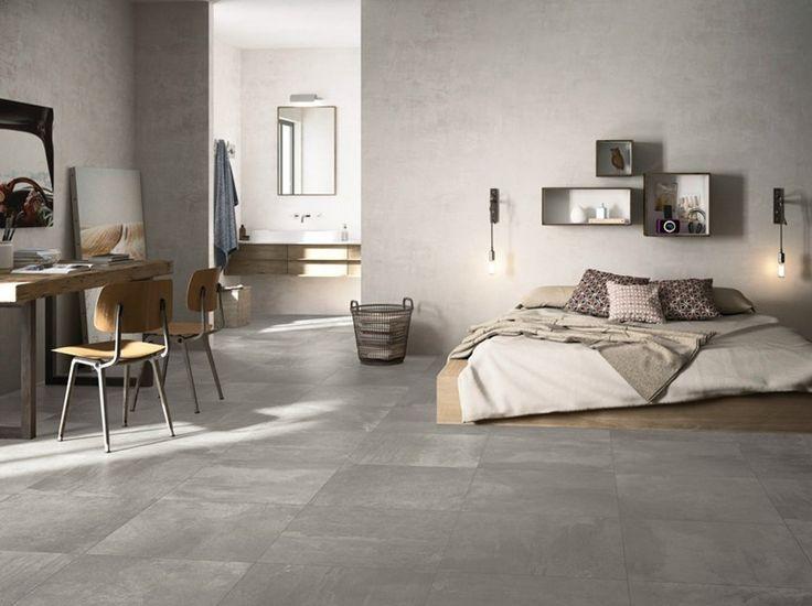 Pavimento in gres porcellanato smaltato effetto cemento OFICINA by Cooperativa Ceramica d'Imola