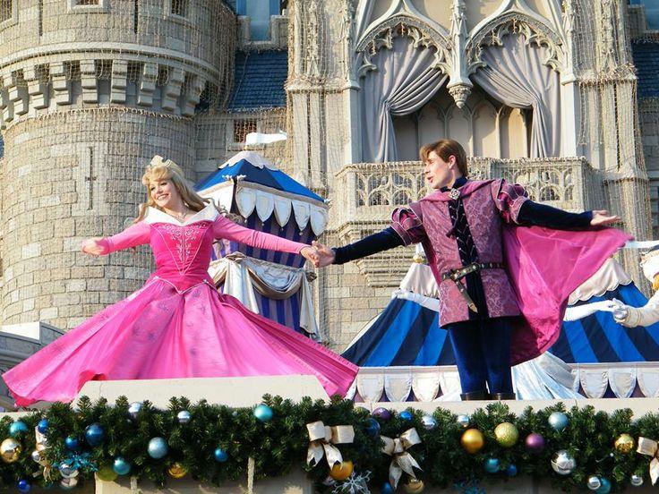 Sleeping Beauty and Prince Phillip  , Walt Disney World November 2012