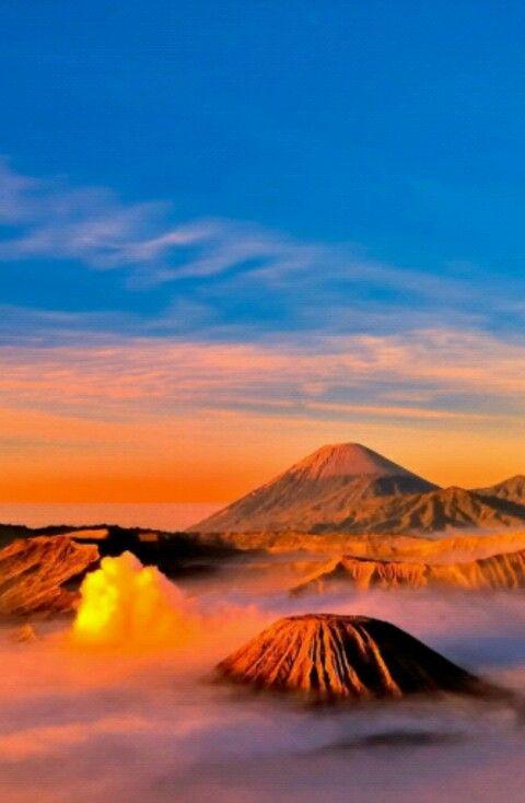 Pemandangan Diatas Gunung Fotografi Pantai Pemandangan Fotografi Alam
