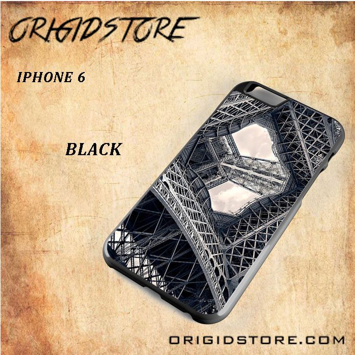 Eiffel Steel Black White Snap On Or 3D For Iphone 6