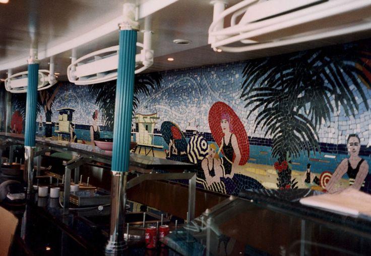 Gaioni – Marine Food Service Equipment » Public areas gallery  #turquoise #turchese #frigorifero #fridge #bompani #kitchen
