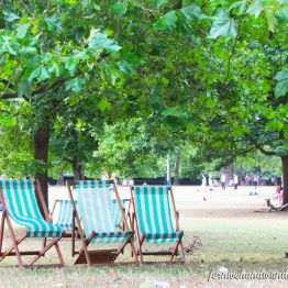 Deck Chairs in St. James's Park