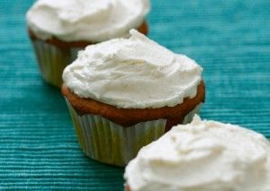 White Chocolate Macadamia Nut Cupcakes | Love and Olive Oil