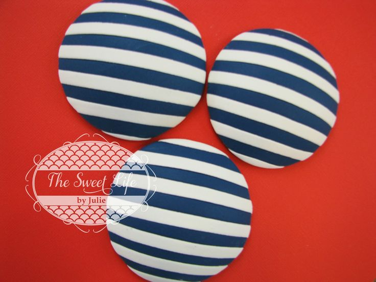 Cake Decorating Fondant Stripes : Inlaid Fondant Stripes Tutorial - The Sweet Life by Julie ...