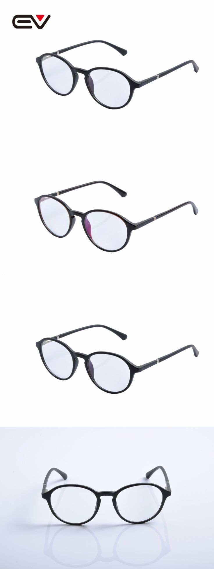 EV Round TR90 Frame Glasses Eye Glasses Frames For Women Eyeglass Frame Eyewear Eyeglasses Frames Men  Monturas De Gafas EV1436