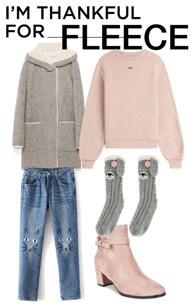"""Fleece"" by ralugoii on Polyvore featuring Impo, Off-White, Monsoon and imthankfulfor"