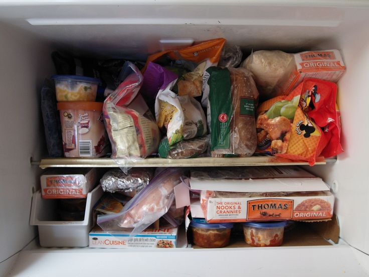 See How Long You Can Freeze All Types Of Foods With This Easy Chart