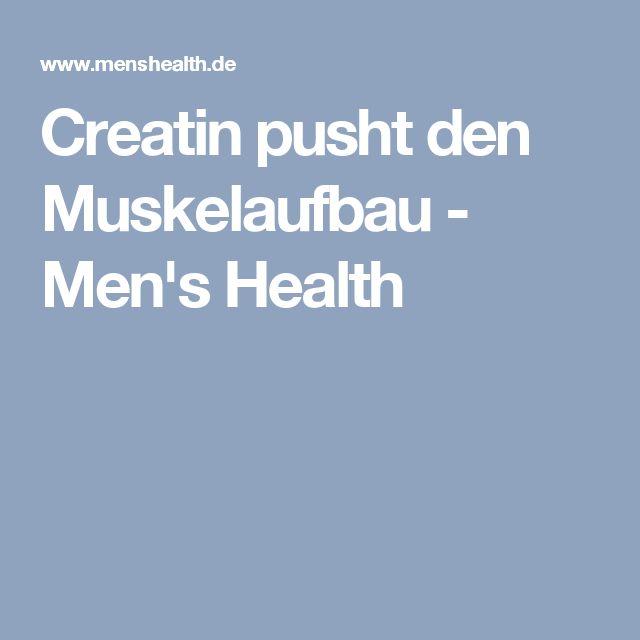 Creatin pusht den Muskelaufbau - Men's Health