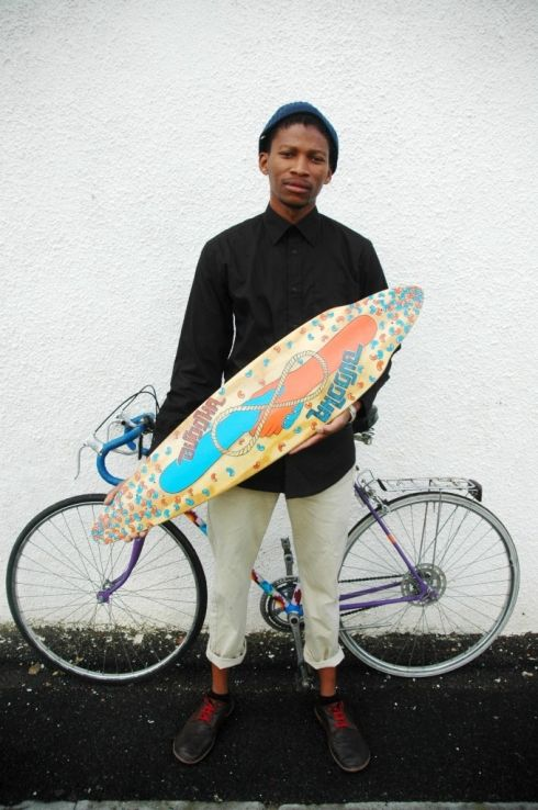 Atang Tshikare winner of emerging talent at Southern Guild