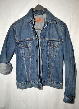 Kup mój przedmiot na #vintedpl http://www.vinted.pl/damska-odziez/marynarki-zakiety-blezery/10594940-kurtka-jeansowa-levis-m-38