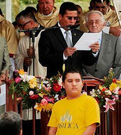 La Iglesia católica en Costa Rica puso a los tres poderes a pedir perdón