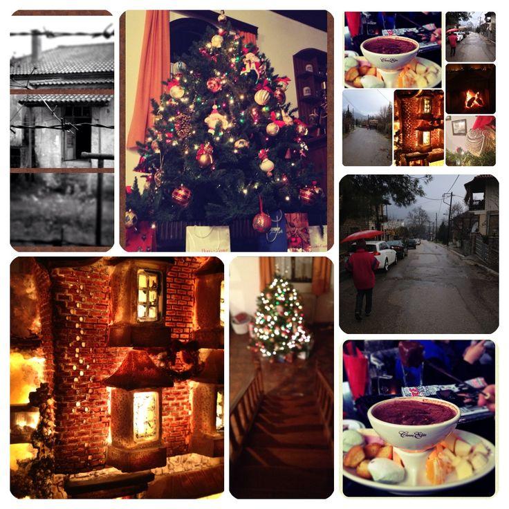 Arachova Nick Provelengios Χριστούγεννα 2014, ταξίδι στη στολισμένη Ελλάδα