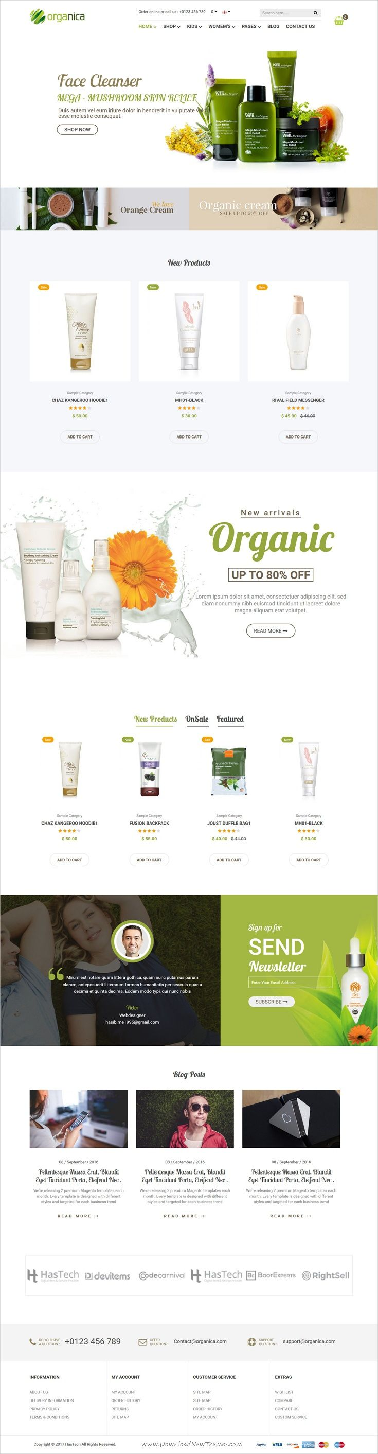 Organica is a wonderful responsive HTML #bootstrap template for #organic and beauty #shop eCommerce website with 6 unique homepage layouts download now➩ https://themeforest.net/item/organica-organic-beauty-natural-cosmetics-food-farn-and-eco-html-template/19433054?ref=Datasata
