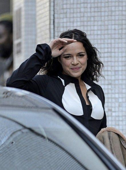 Michelle Rodriguez - Michelle Rodriguez Stops by the London Studios
