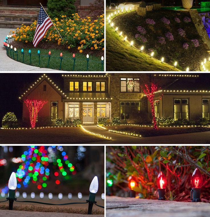 Christmas Pathway Lights Christmas Lights Etc Christmas Pathway Lights Diy Christmas Lights Christmas Lights