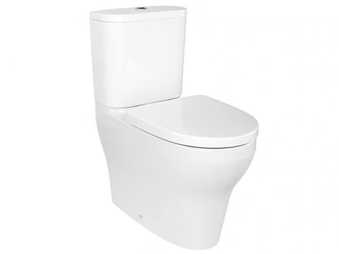 Porcher Cygnet. 9505232  Care starts in the home and Porcher is created with well being of your family in mind. Enduring quality and timeless design give you the flexibility to create a practical, stylish bathroom you can be proud of. Bold yet elegant, the Porcher Cygnet Back To Wall Overheight Toilet Suite works equally well in both older and newer homes creating the perfect space for your family.$713.99