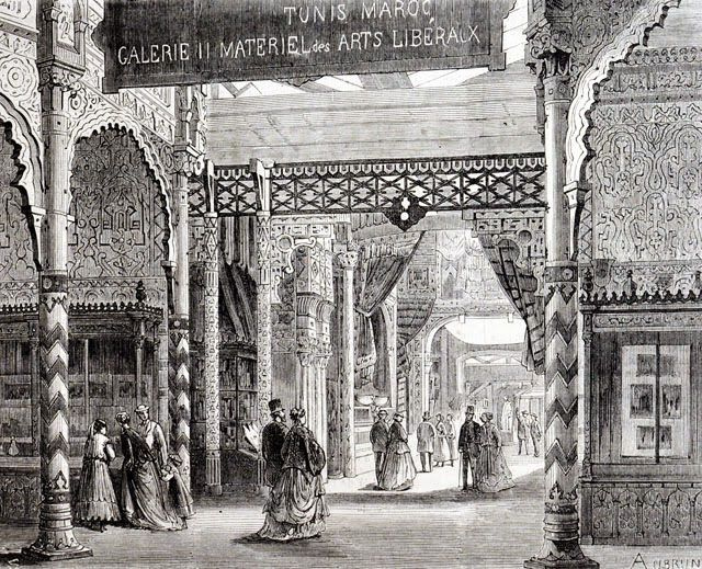World's Fair of 1867 Pavilion of Tunisia and Morocco.