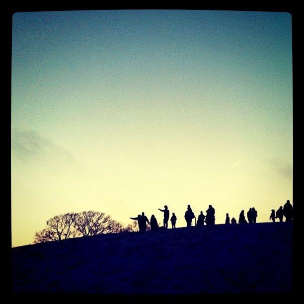 Primrose Hill, Xmas day