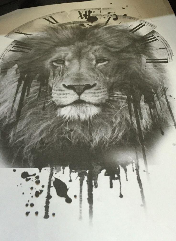 Lion tattoo design. Tattooing this soon ☺️