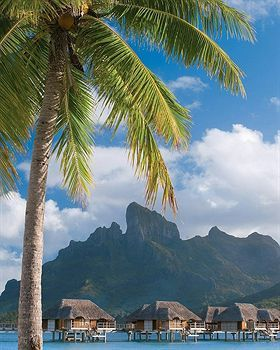 Four Seasons Resort Bora Bora, Bora Bora, French Polynesia >>> I want to go to here...