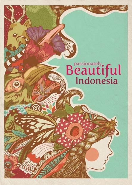 Passionately Beautiful Indonesia Sejarah seni, Ilustrasi