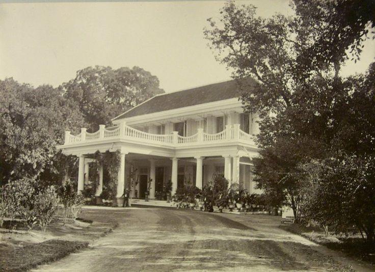 Residentiehuis te Surabaia, Java, Indonesië (1880-1899)