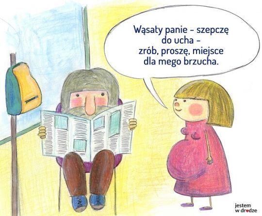 """Sukces kampanii """"Jestem w drodze"""" w warszawskiej komunikacji miejskiej"""